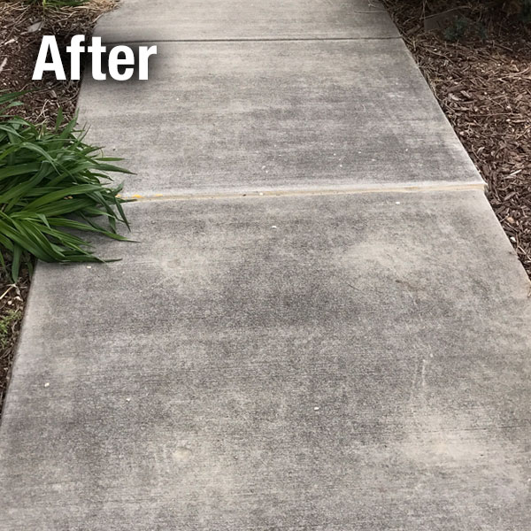 Colorado Springs Concrete Sidewalk Leveling after