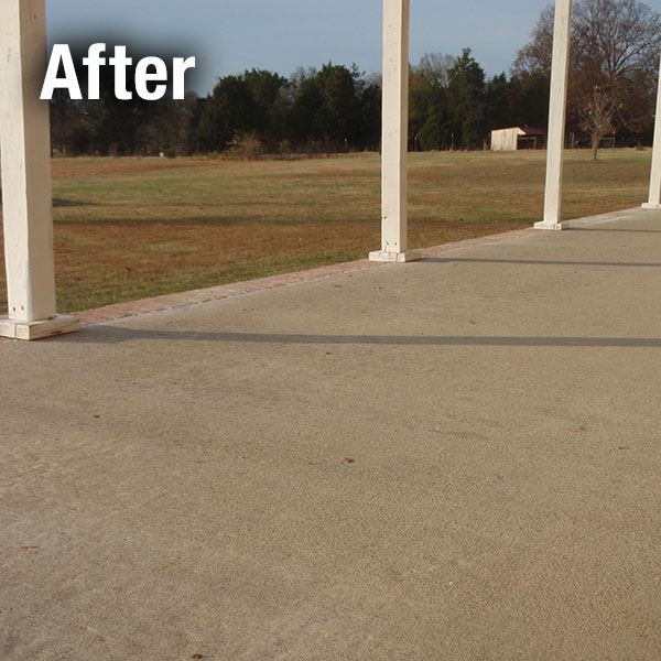 Colorado Springs​ Concrete Patio Leveling - After