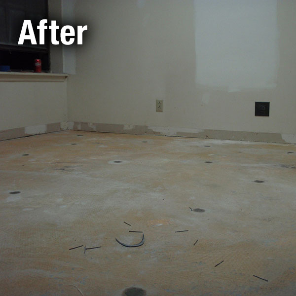 Colorado Springs​ Concrete Floor Leveling After