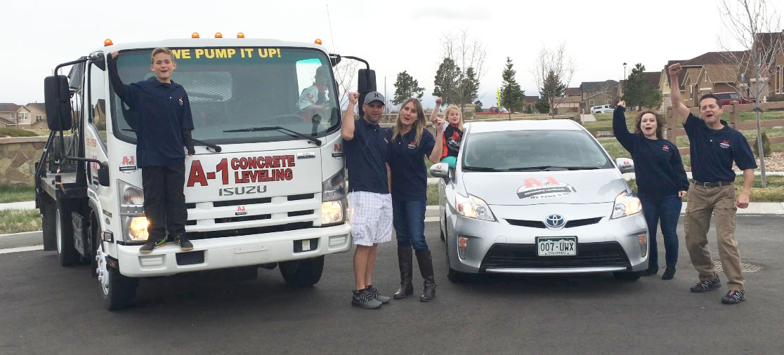 Colorado Springs Concrete Leveling Team A-1 Concrete Leveling