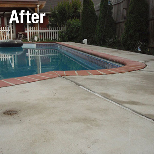 Pool Deck Leveling Colorado Springs - After