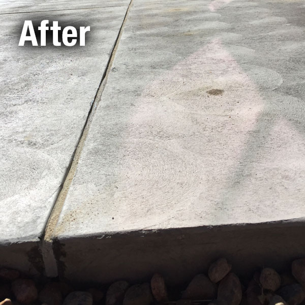 Concrete Driveway Caulking Colorado Springs - After
