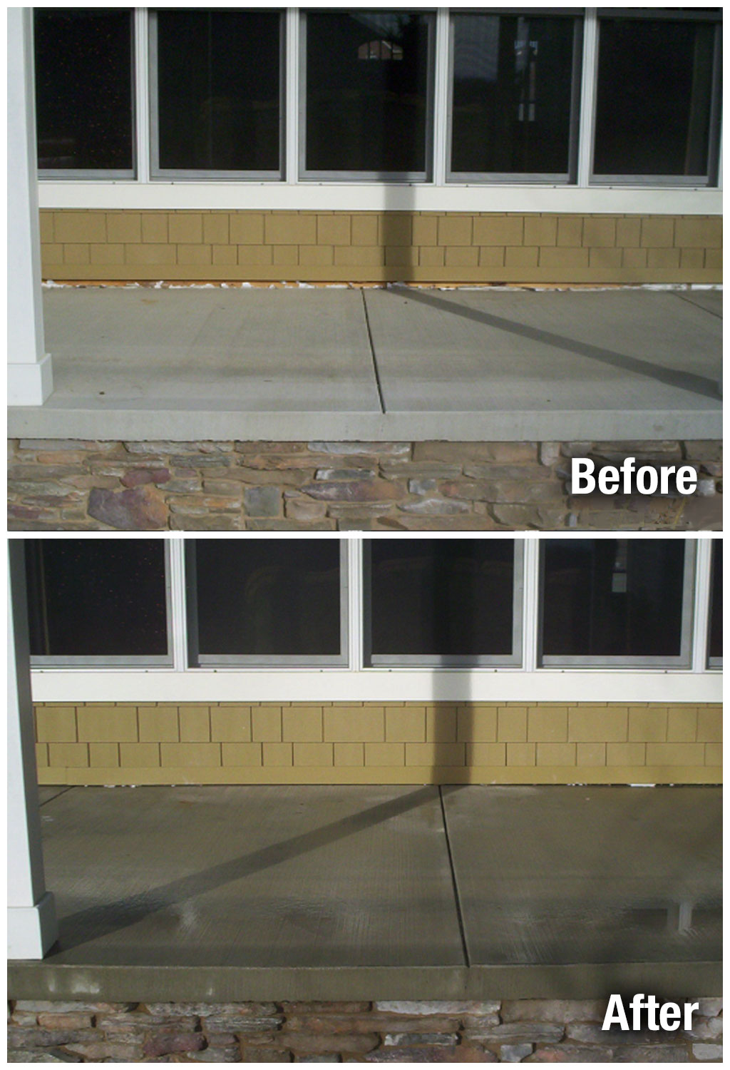 A-1 Concrete Leveling Colorado Springs Porch Leveling