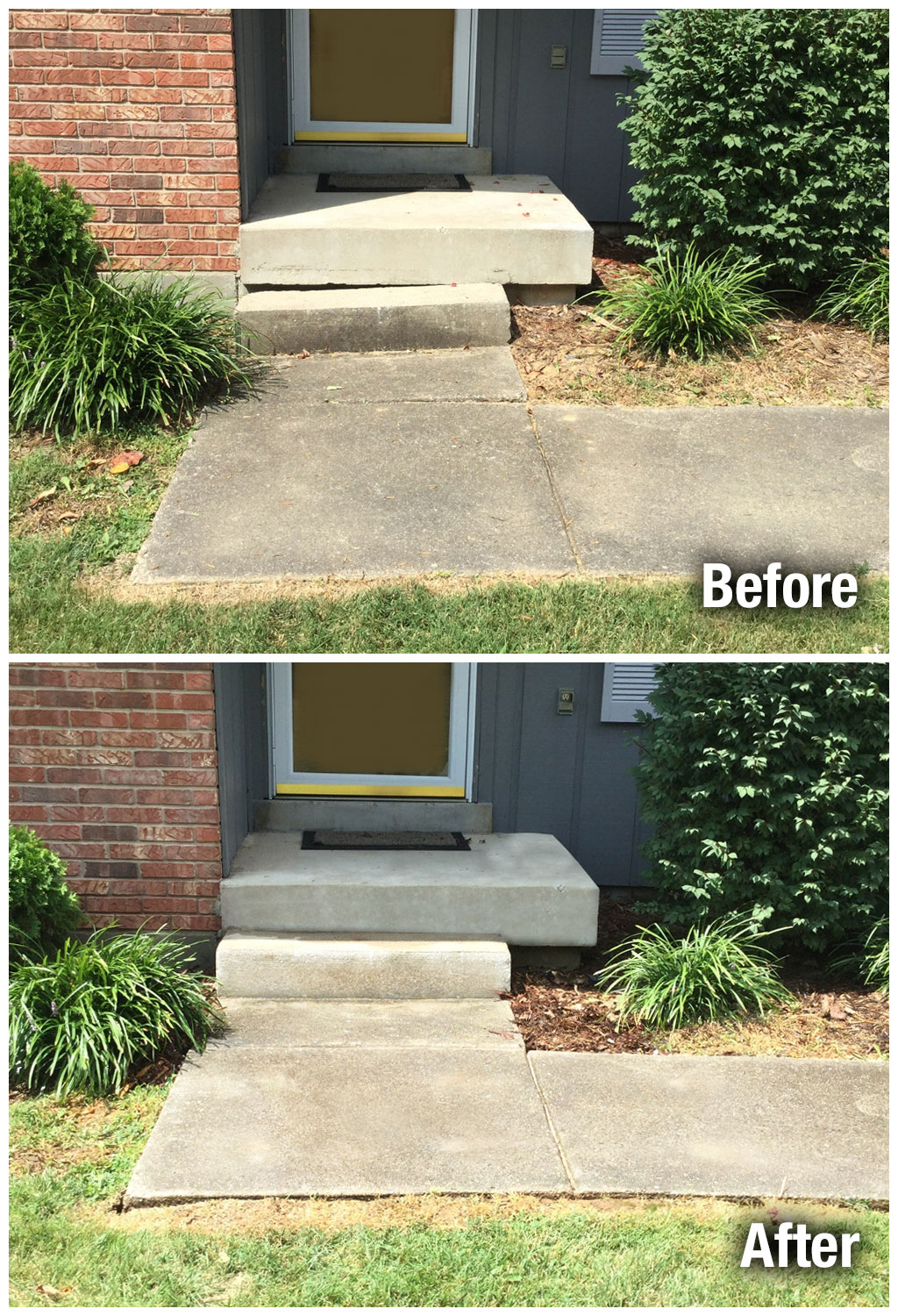 A-1 Concrete Leveling Colorado Springs Steps Leveling